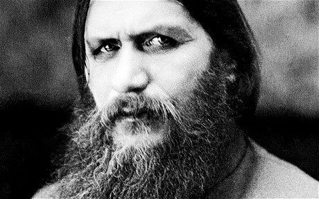 Portrait of Rasputin, the mystic
